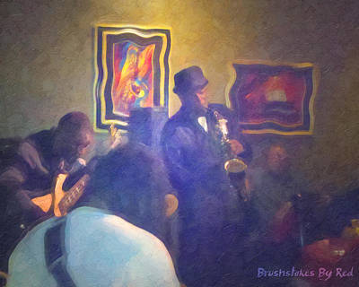 Painting - Jazzy Jam by Melody McBride