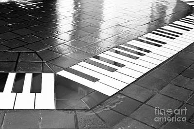 Photograph - Jazzy Tiles by Lawrence Burry