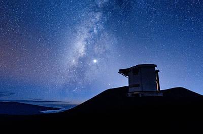 Photograph - Jcmt And The Milky Way by Jason Chu