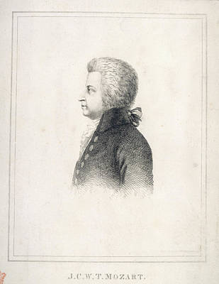 J.c.w.t. Mozart Art Print by British Library