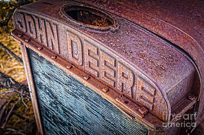 Machinery Photograph - Jd Grille by Inge Johnsson