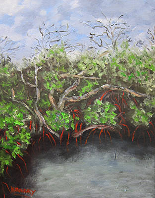 Painting - Jd Macarthur Mangroves by Kathryn Barry