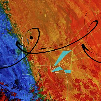 Painting - Jealous Bones 2 by Sharon Cummings