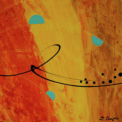 Painting - Jealous Bones 3 by Sharon Cummings