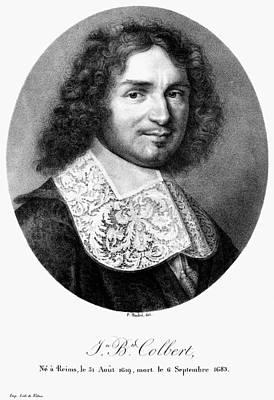 Painting - Jean-baptiste Colbert (1619-1683) by Granger