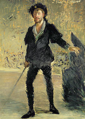 Jean Baptiste Faure In The Opera Hamlet By Ambroise Thomas Art Print by Edouard Manet