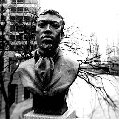 Photograph - Jean Baptiste Point Du Sable by Jeremiah John McBride