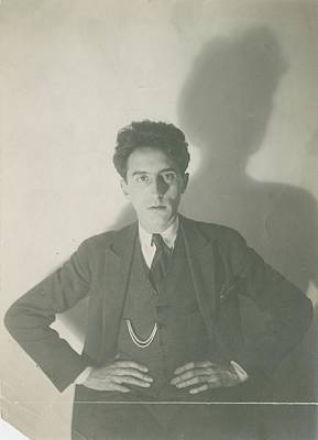 Jean Cocteau With His Hands On His Hips Print by Delphi