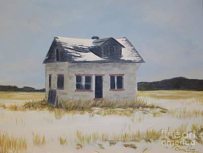 Painting - Jean Cote House On The Corner by Denise Hoag