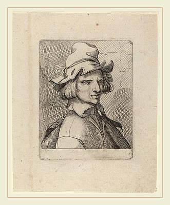 Self-portrait Drawing - Jean De Saint-igny French, 1595-1649, Self-portrait by Litz Collection