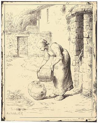 Jean-françois Millet French Art Print