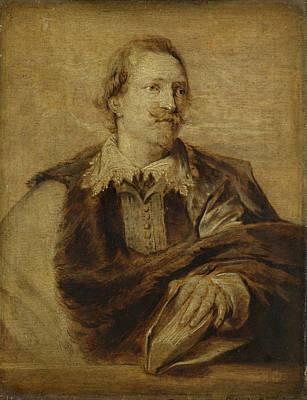 Jean-gaspardgevaerts, Jurist, Historian Art Print by Litz Collection