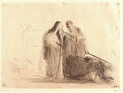 Jean Louis Forain French Art Print
