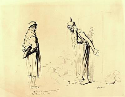 Jean-louis Forain, -quest-ce Vous Voulez  -les Louis De 1871 Print by Litz Collection