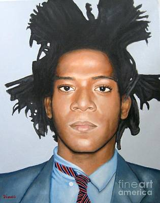 Other Painting - Jean-michel Basquiat by Venus