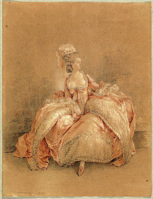 Yes Drawing - Jean-michel Moreau, Yes Or No, French, 1741-1814 by Litz Collection