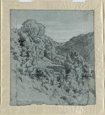 Jean-paul Flandrin French, 1811 - 1902 Art Print