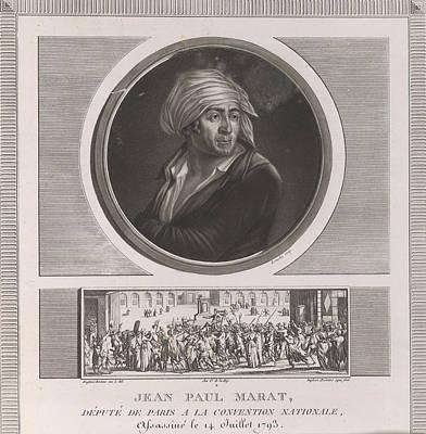 Jean Paul Marat Art Print by British Library