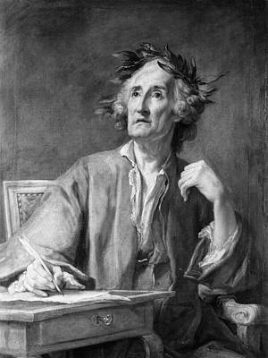 Theorist Painting - Jean-phillippe Rameau (1683-1764) by Granger