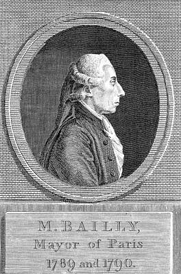 1736 Photograph - Jean Sylvain Bailly by Universal History Archive/uig