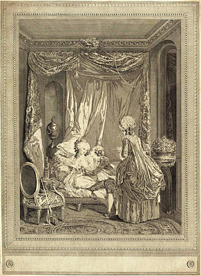 Jeanne Deny Or Martial Deny After Niclas Lafrensen II Print by Litz Collection