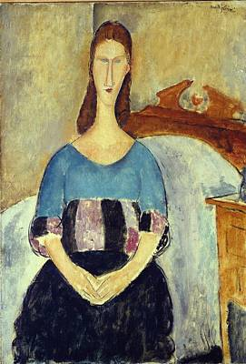 Painting - Jeanne Hebuterne, 1918 by Amedeo Modigliani