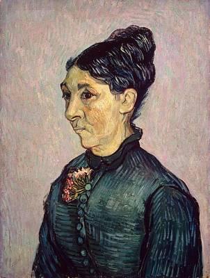 St. Vincent Painting - Jeanne Trabuc by Vincent van Gogh