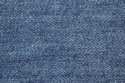 Jeans Texture Art Print by Andrew Dernie