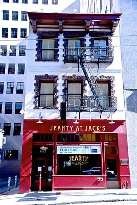 Photograph - Jeanty At Jack's by Eric Tressler