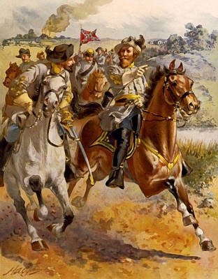 Digital Art - Jeb Stuart Civil War by Henry Alexander Ogden