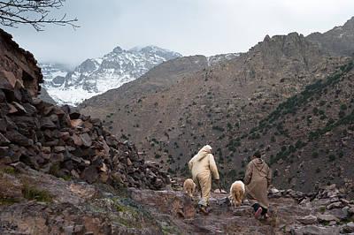 Moroccan Photograph - Jebel Toubkal by Daniel Kocian