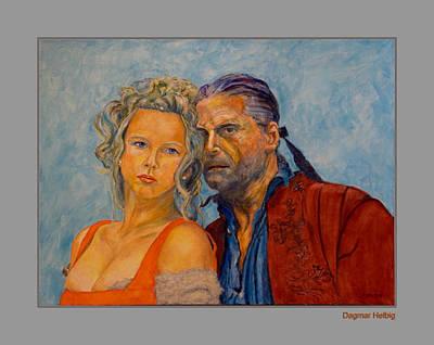 Painting - Jedermann by Dagmar Helbig