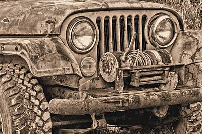 Jeep Cj Function Over Form Print by JC Findley