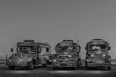 Target Threshold Nature - Jeepneys Of The Philippines by Colin Utz