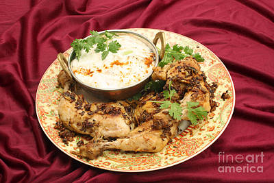 Photograph - Jeera Chicken And Raita by Paul Cowan