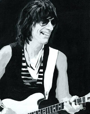 Jeff Beck-emotion And Commotions Original by Tanya Filichkin