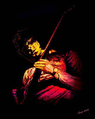 Jeff Beck Original by Paul Savoie