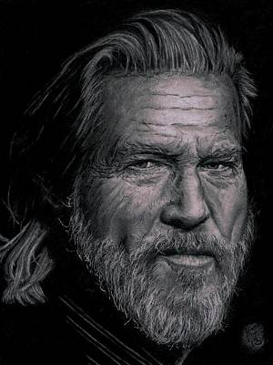 Jeff Bridges Art Print by Ryan Jacobson