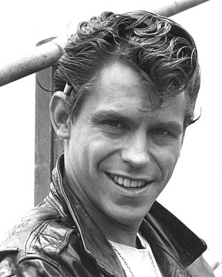 Jeff Conaway In Grease  Art Print by Silver Screen