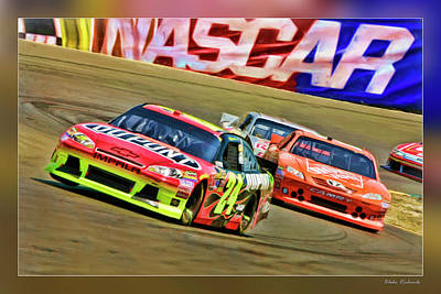 Photograph - Jeff Gordon-nascar Race by Blake Richards