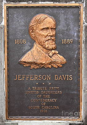 Jefferson Davis 1808-1889 Art Print