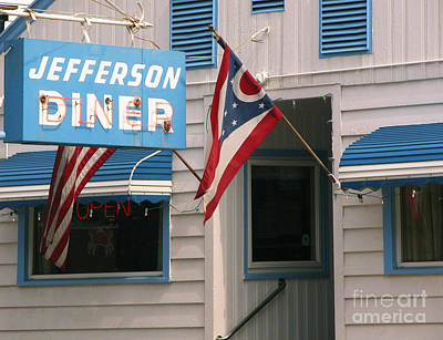 Photograph - Jefferson Diner by Tom Brickhouse
