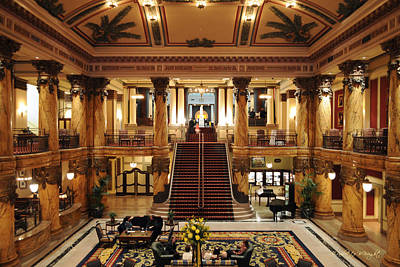 Photograph - Jefferson Hotel Rotunda by Paulette B Wright