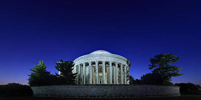 Photograph - Jefferson In The Morning by Metro DC Photography