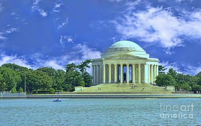 Photograph - Jefferson Memorial by Allen Beatty