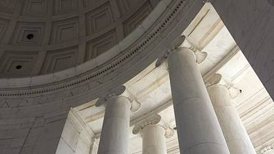 Photograph - Jefferson Memorial Architecture by Kenny Glover