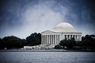 Politicians Royalty-Free and Rights-Managed Images - Jefferson Memorial by Christi Kraft