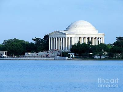 Photograph - Jefferson Memorial by Ed Weidman