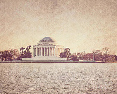 Us Capital Photograph - Jefferson Memorial  by Emily Kay