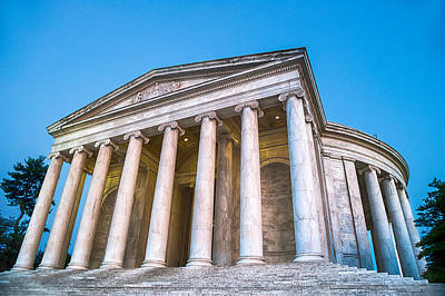 Photograph - Jefferson Memorial II by Ray Warren